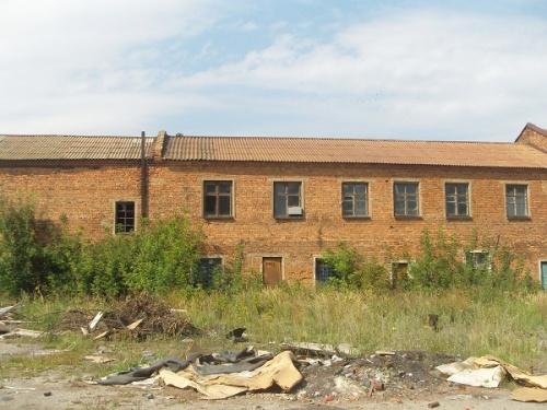 Кимовск. Бывшая автобаза