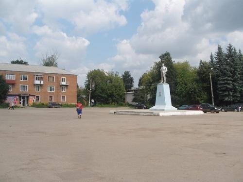 Кимовск. Площадь Ленина